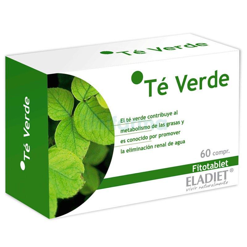 Eladiet Fitotablet Te Verde 60 Comprimidos