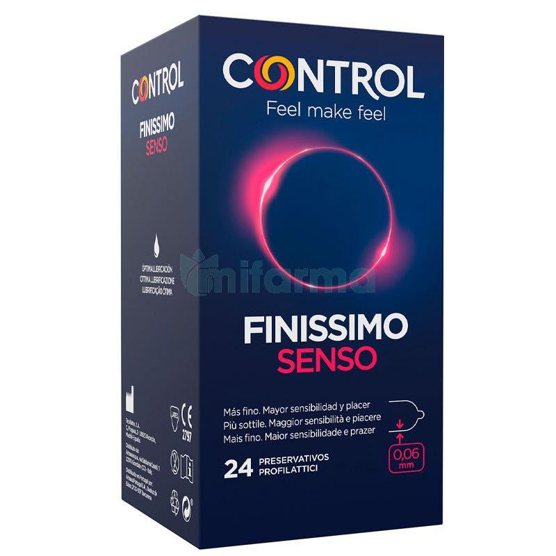 Preservativo Control Adapta Fino Senso 24 Uds