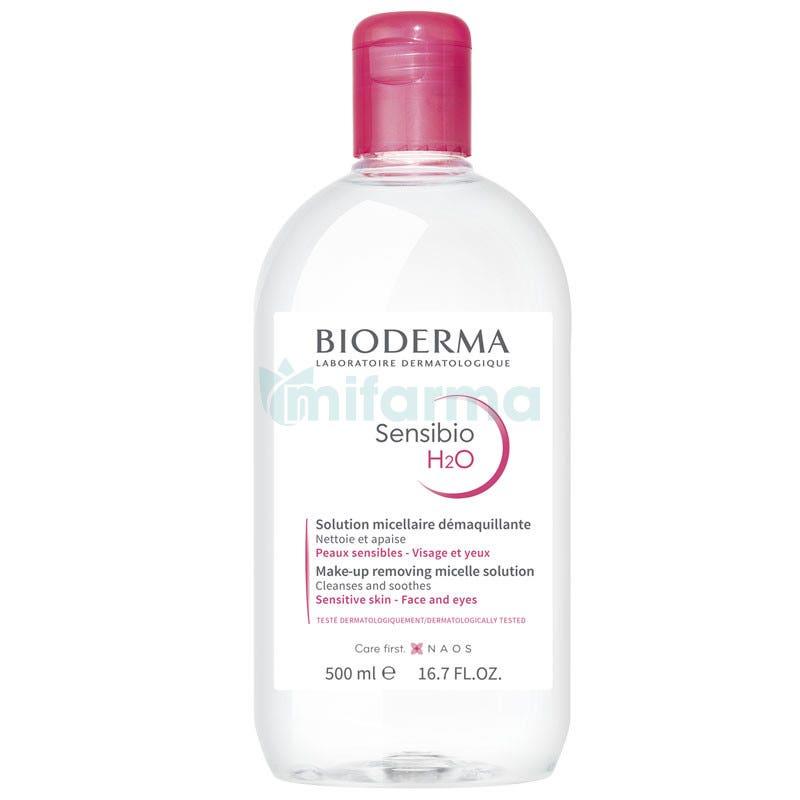 Bioderma Sensibio H2O Agua Solucion Micelar 500 ml