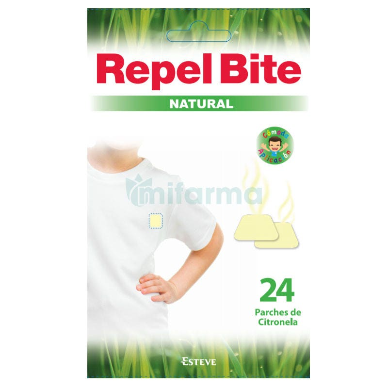 Repel Bite Natural Parches 24uds