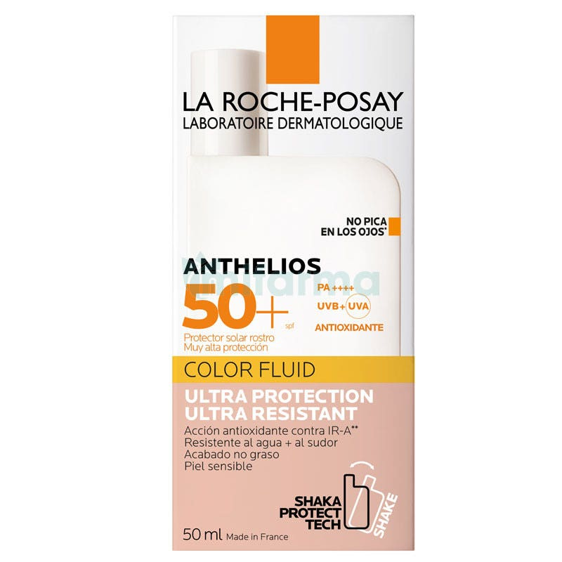 Anthelios Shaka Fluid SPF 50 Color La Roche Posay 50ml