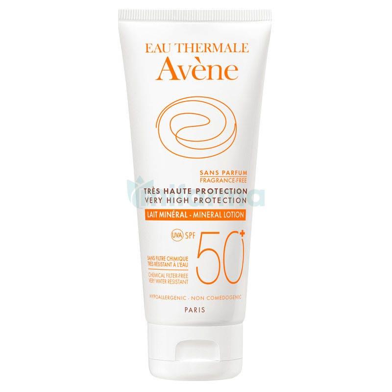 Avene Leche Mineral 50 Pantalla Fisica 100 ml