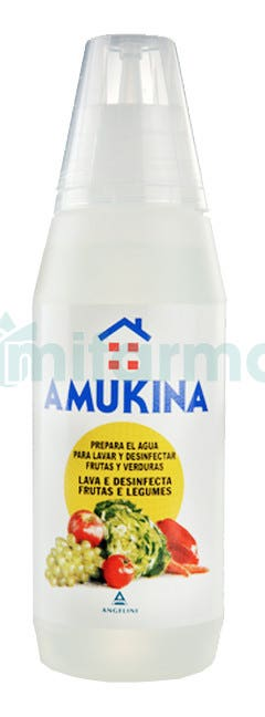 Amukina Desinfeccion Frutas y Verduras 500 ml