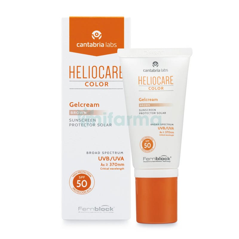 Heliocare Gelcream Color Brown Spf 50 50ml