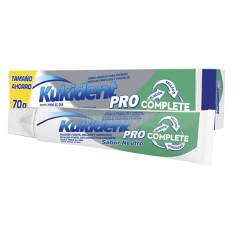 Kukident Complete Pro Neutro 70 gramos