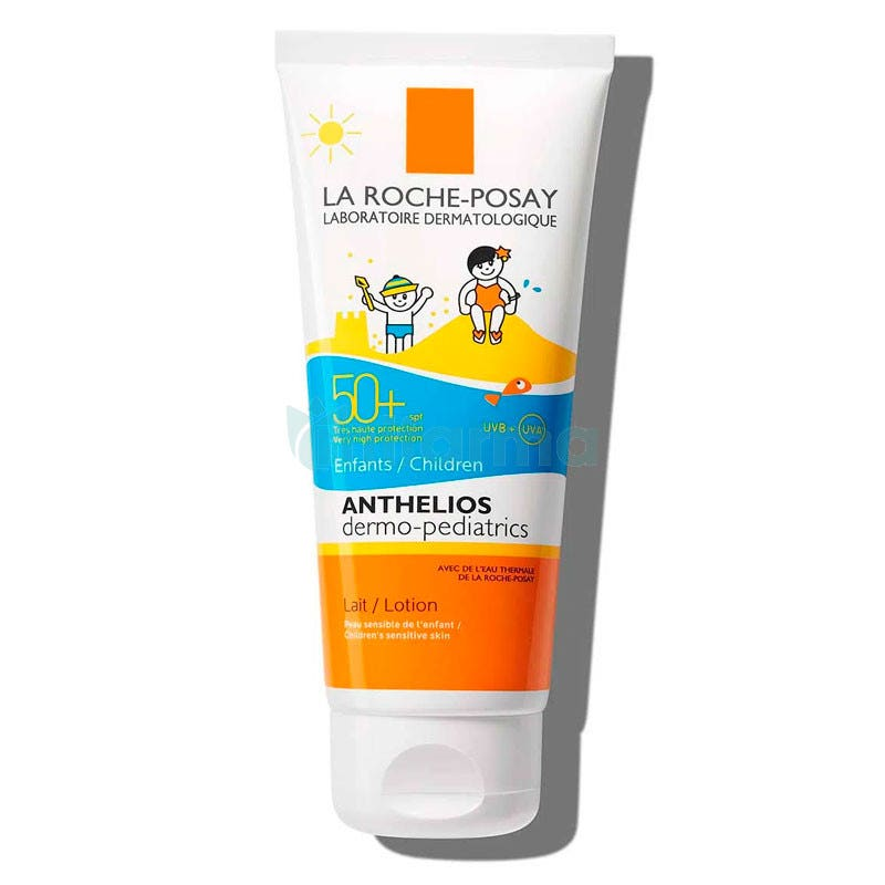 Anthelios Pediatrico FPS 50  Leche o Locion 100ml La Roche Posay
