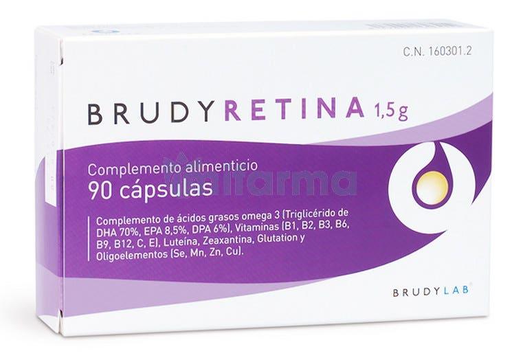 Brudy Retina 1,5gr 90 Capsulas