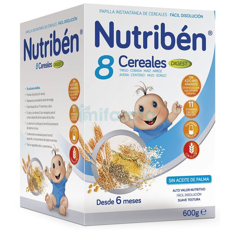 Nutriben 8 Cereales Digest 6m 600 g