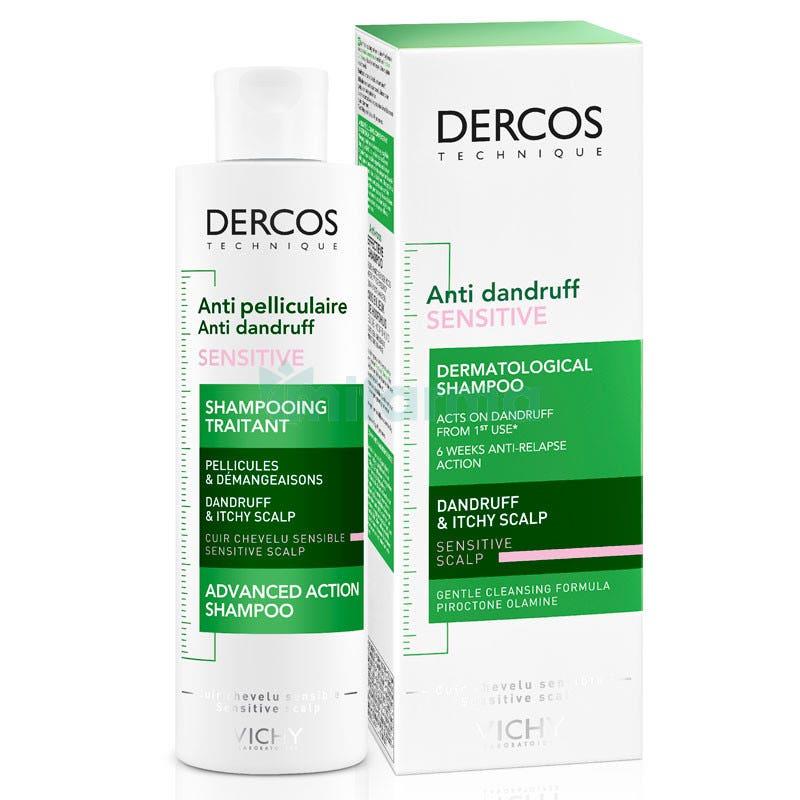 Vichy Dercos Champu Anticaspa Sensitive Sin Sulfato 200 ml