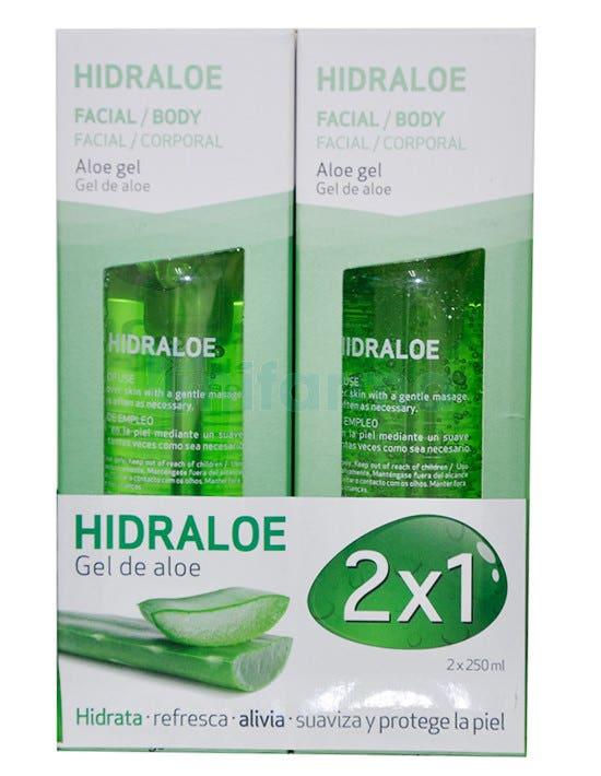 Hidraloe Gel de Aloe Vera Sesderma 250 ml 250 ml Duplo