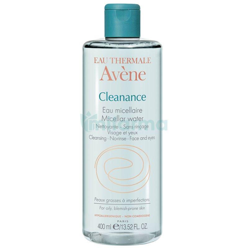 Avene Cleanance Agua Limpiadora Micelar 400ml