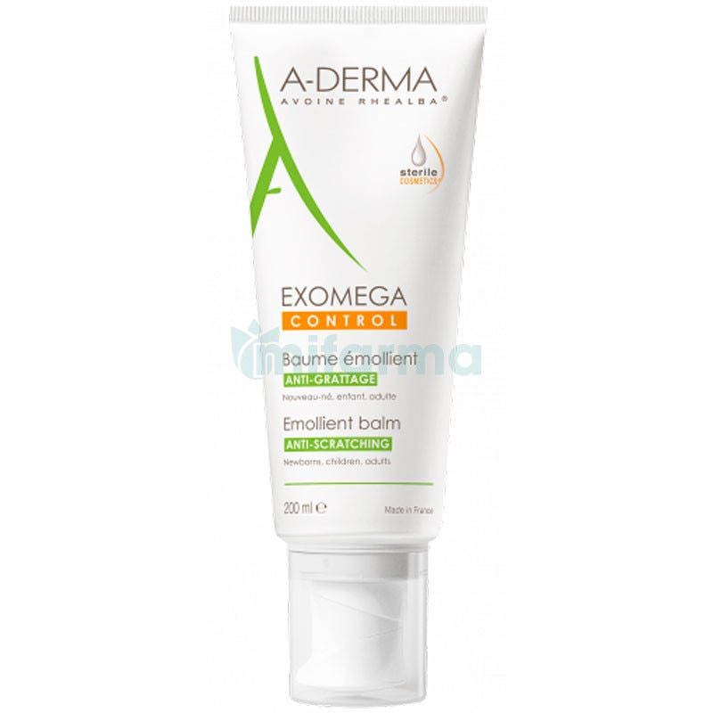 A-Derma Exomega Control Balsamo Emoliente 200 ml
