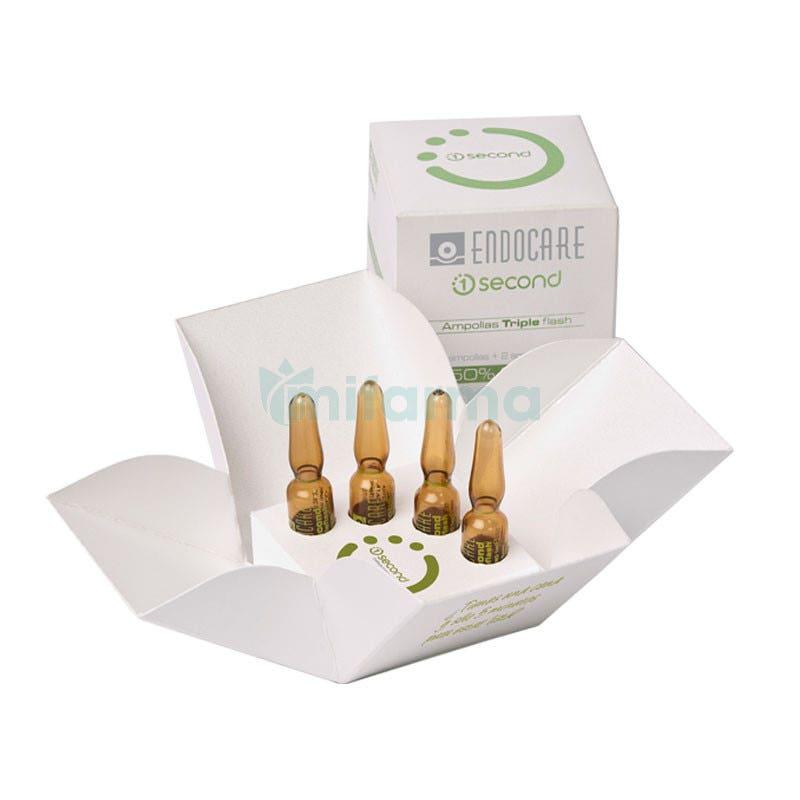 Endocare Second Ampollas Triple Flash 2 ampollas 2 ampollas Gratis de 1ml