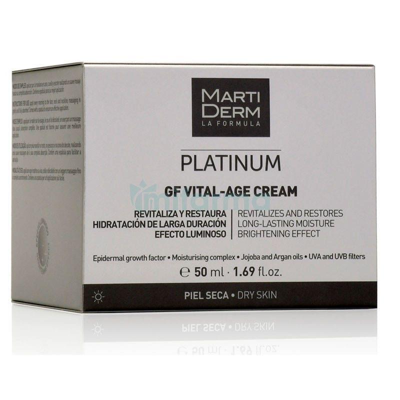 Martiderm Platinum GF Vital-Age Pieles Secas 50ml