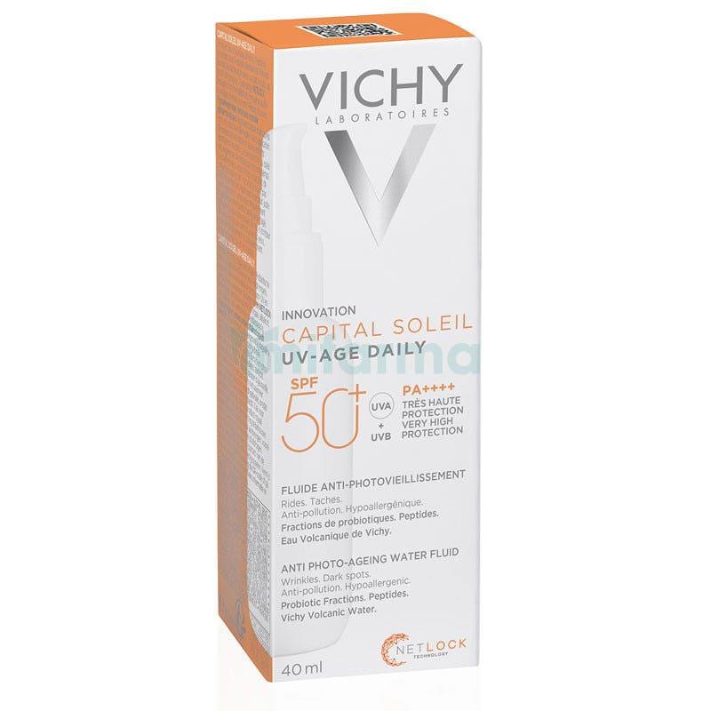 Vichy Capital Soleil UV-AGE Water Fluid Antifotoenvejecimiento SPF50