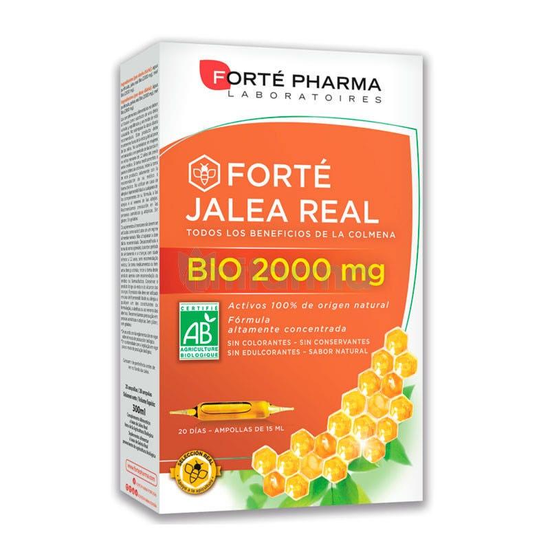 Jalea Real 2000mg Forte Pharma 20 Ampollas