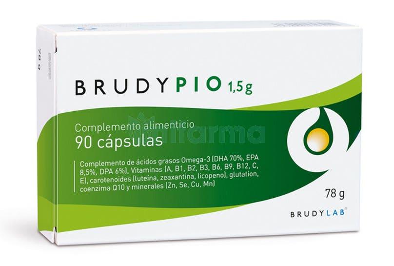 Brudy Pio 1,5gr 90 Capsulas