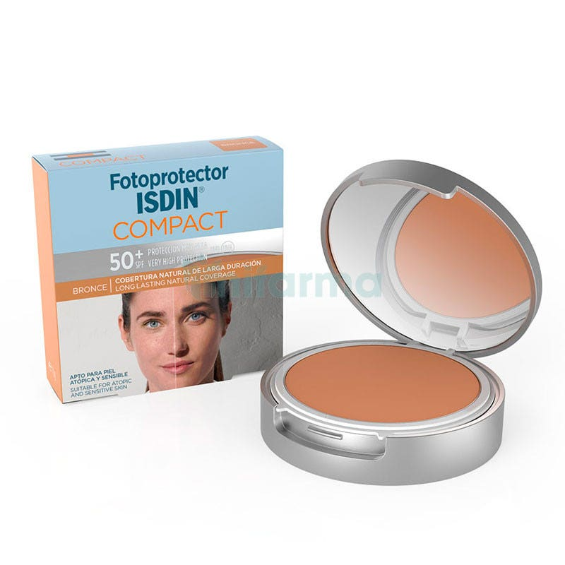 Isdin Fotoprotector Compact SPF50 Bronce 10 g