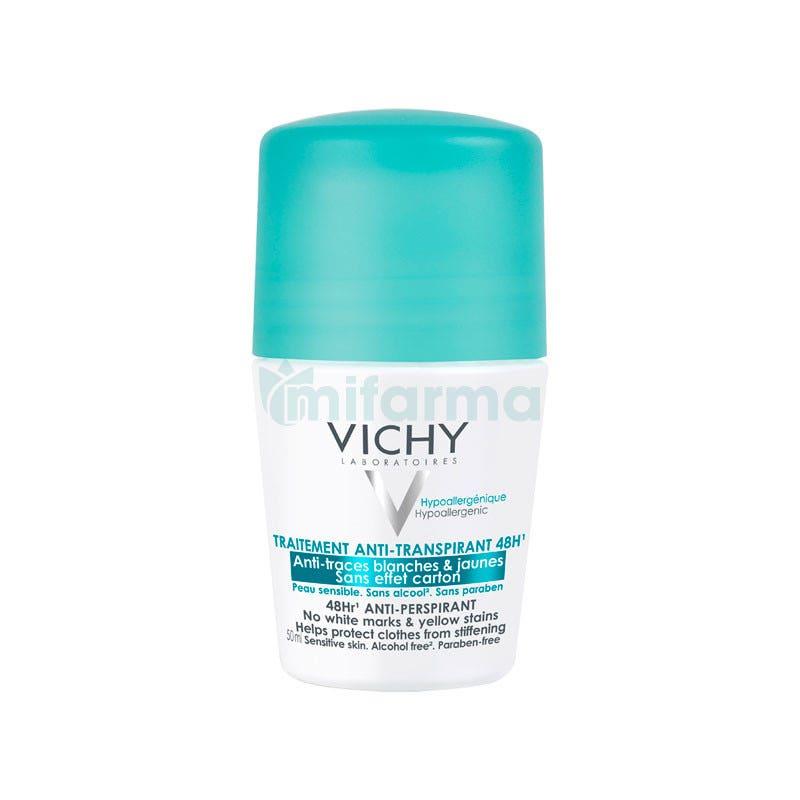 Vichy Desodorante Bola Antimarcas Antitranspirante 48H 50 ml