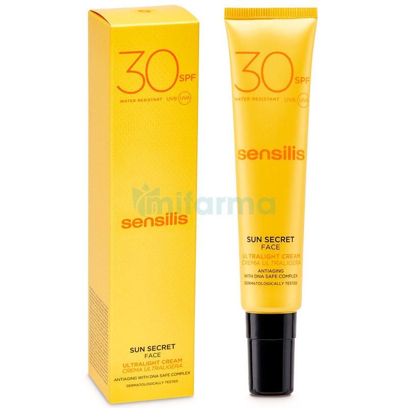 Sensilis Sun Secret Crema Solar Facial Protectora y Antiedad SPF30 40ml
