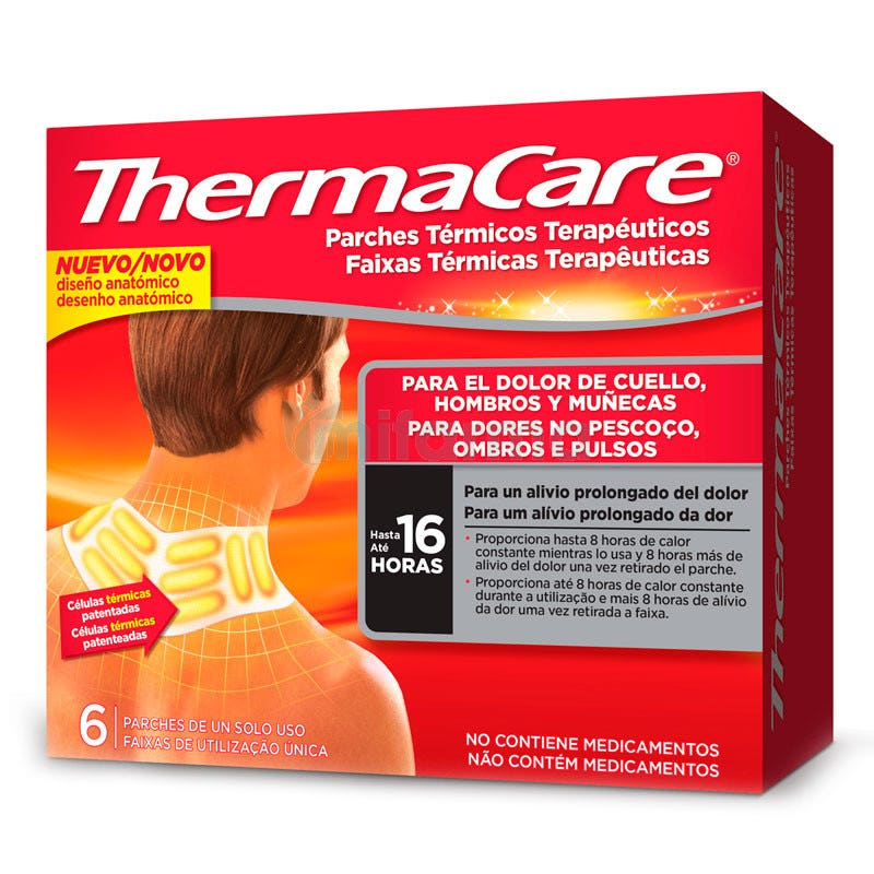 Thermacare Warming Patch Neck Shoulder x 6
