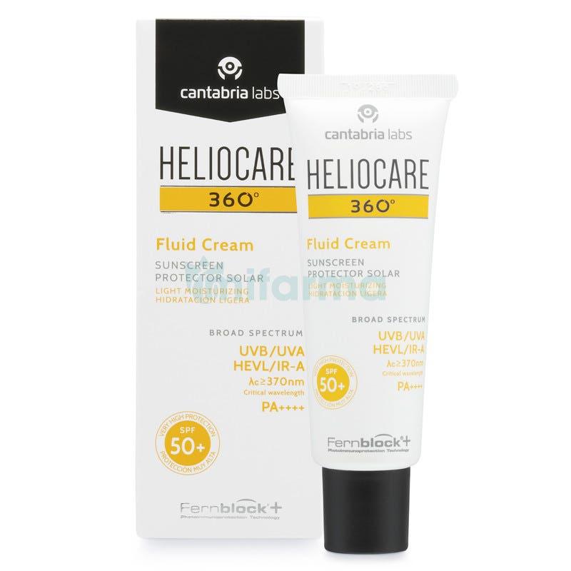 Heliocare 360. Fluid Cream SPF50 50ml