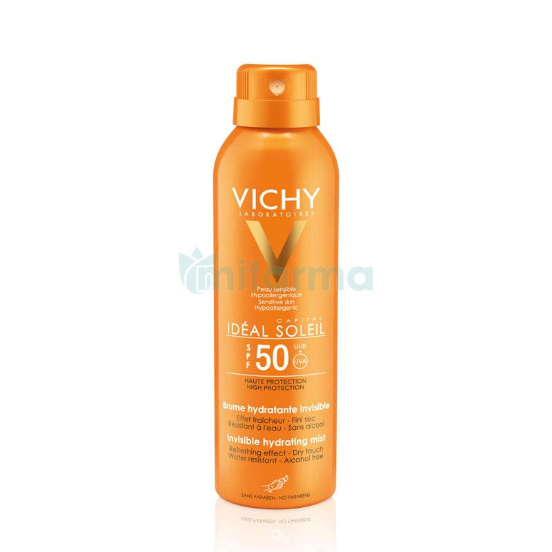 Vichy Capital Soleil SPF50 Bruma Invisible Hidratante 200 ml