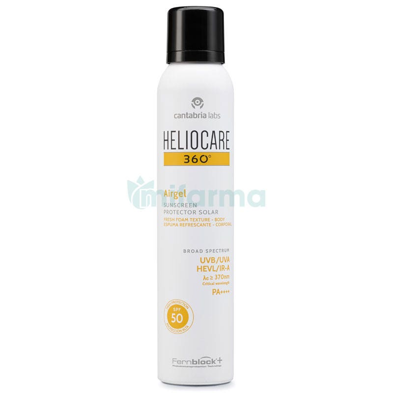 Heliocare 360. Airgel SPF50 200 ml