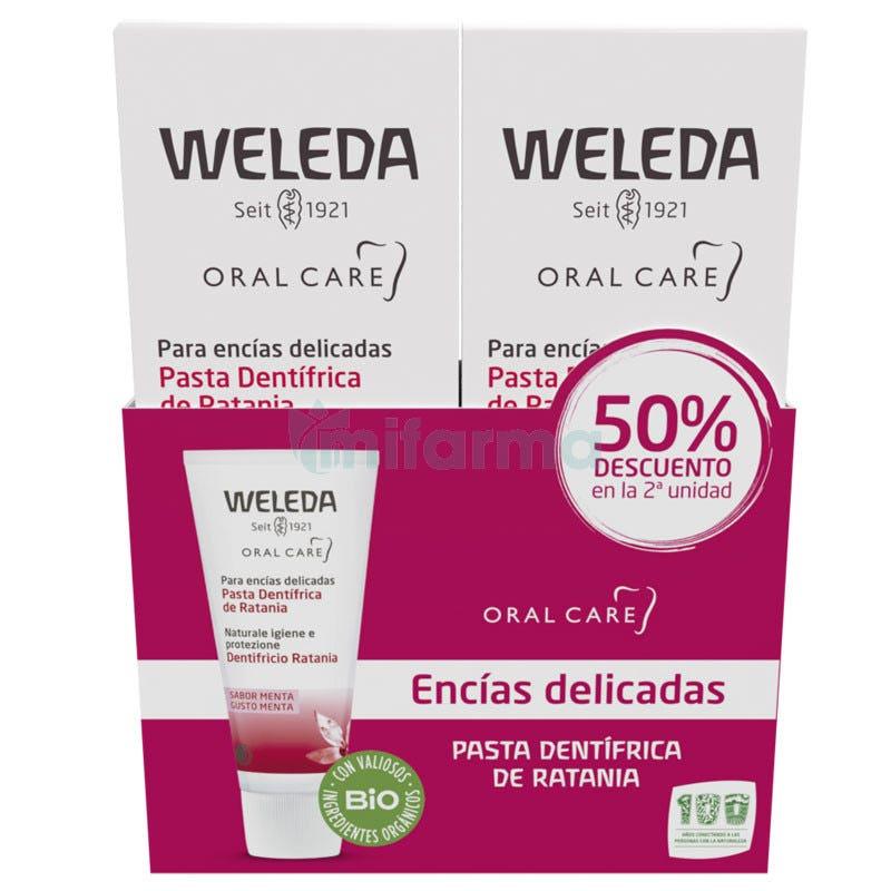 Weleda Pasta Dentifrica de Ratania 75 ml DUPLO