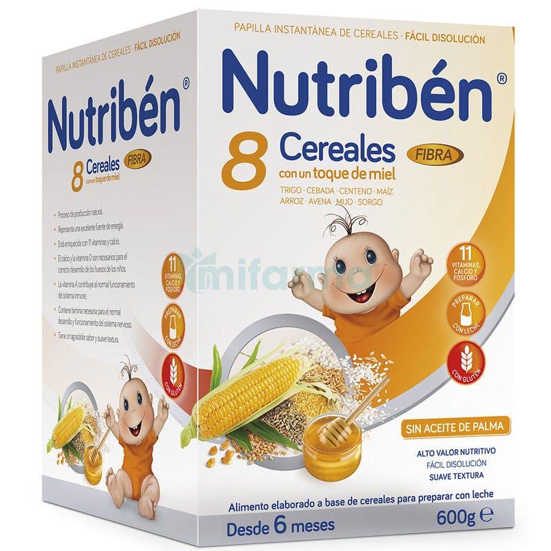 Nutriben 8 Cereales Y Miel Fibra 600Gramos