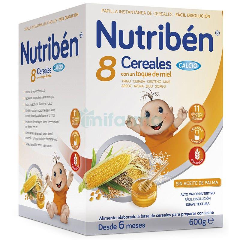 Nutriben 8 Cereales, Miel y Calcio 600g