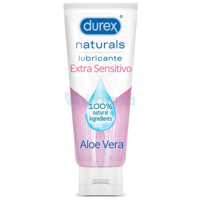 Lubricante Natural Extrasensitivo Aloe Vera Durex 100ml