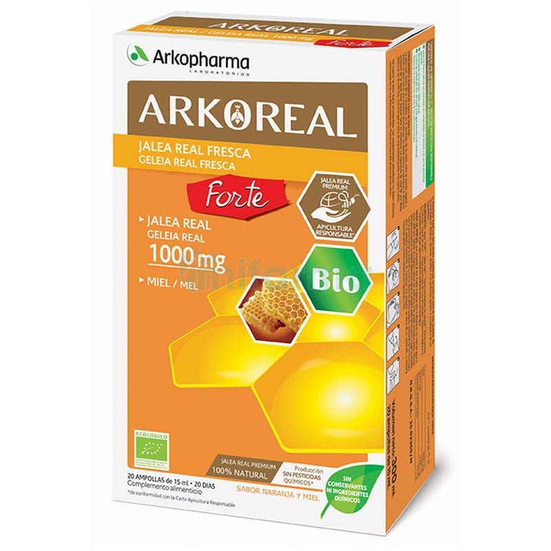 ArkoReal Jalea Real Forte 1000 mg BIO 20 Ampollas