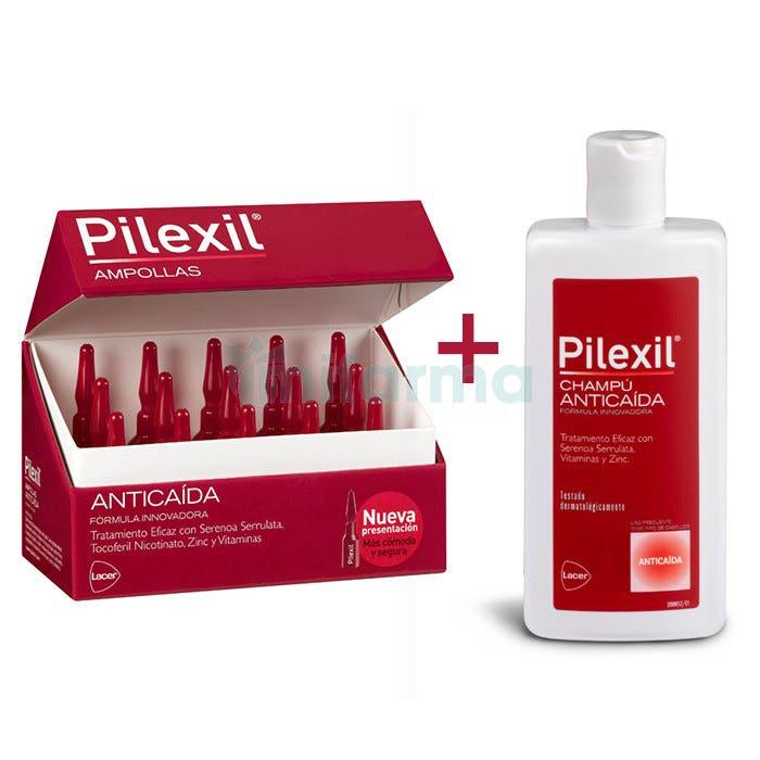 Pilexil Anticaida 15 Ampollas   Champu 100 ml