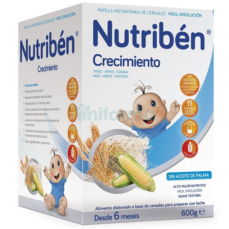 Nutriben Crecimiento Cereales 600g