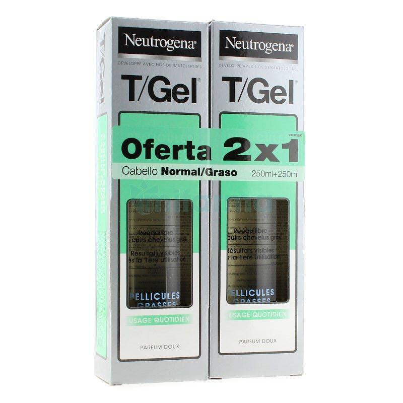 Neutrogena Tgel Champu Normal-graso 250ml 250ml DUPLO