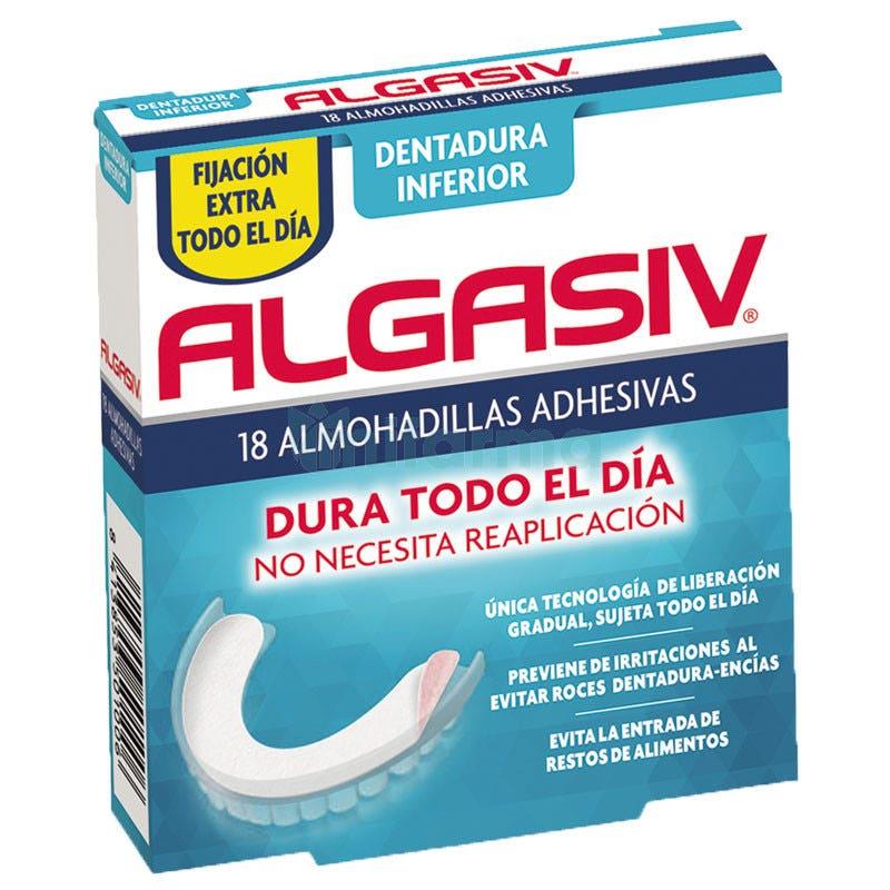 Algasiv Almohadilla Inferior 18unidades