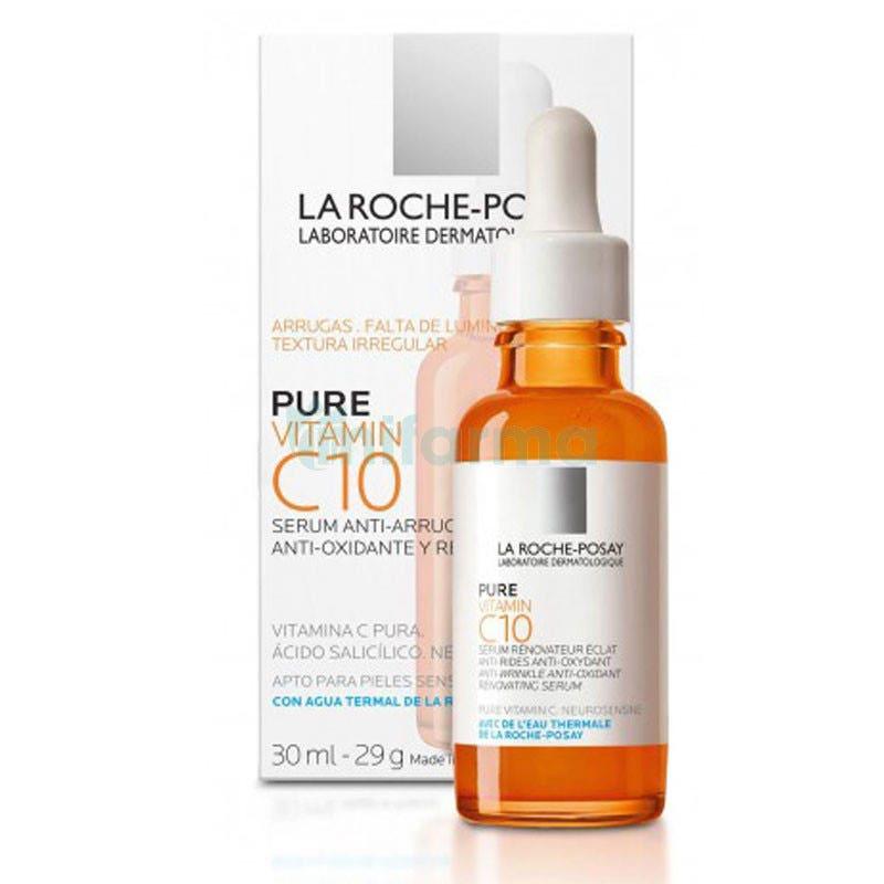 Serum Antiarrugas Pure Vitamina C10 La Roche Posay 30ml