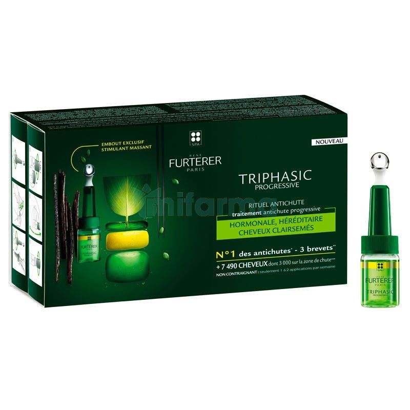 RENE Furterer Triphasic VHT  8 Frascos 5 5ml