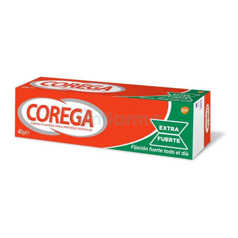 Corega Extra Fuerte Crema 40 Gramos