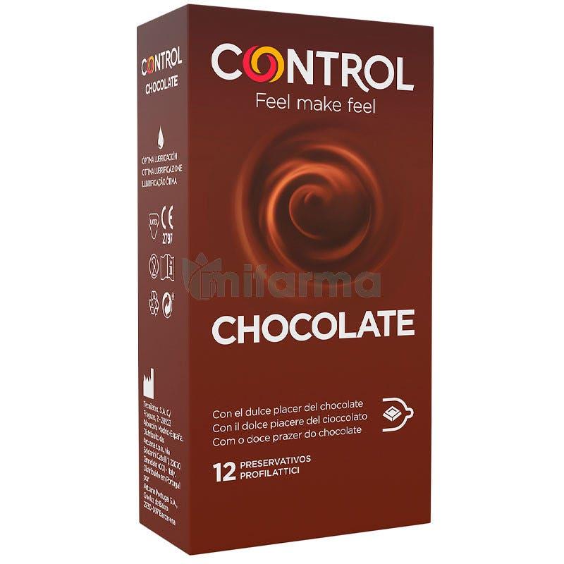 Preservativo Control Sex Senses Chocolate 12 Unidades