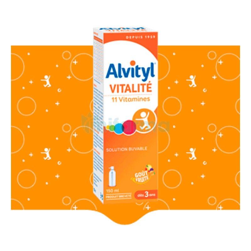 Alvityl Jarabe Polivitaminico 150ml