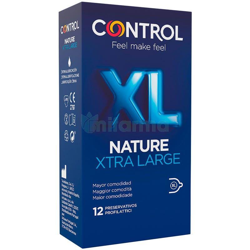 Preservativo Control Adapta Nature XL 12 Uds