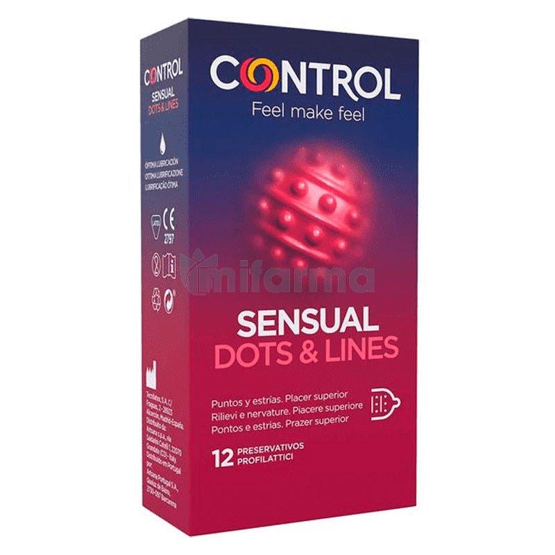 Preservativo Control Touch y Feel 12Unidades