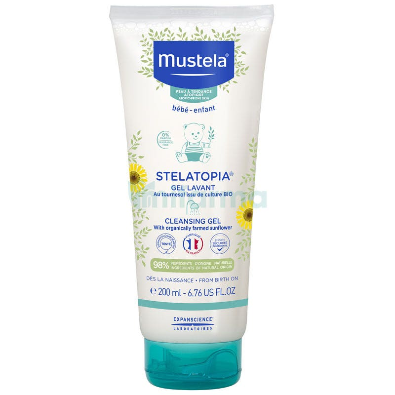 Mustela Stelatopia Gel Lavante 200ml