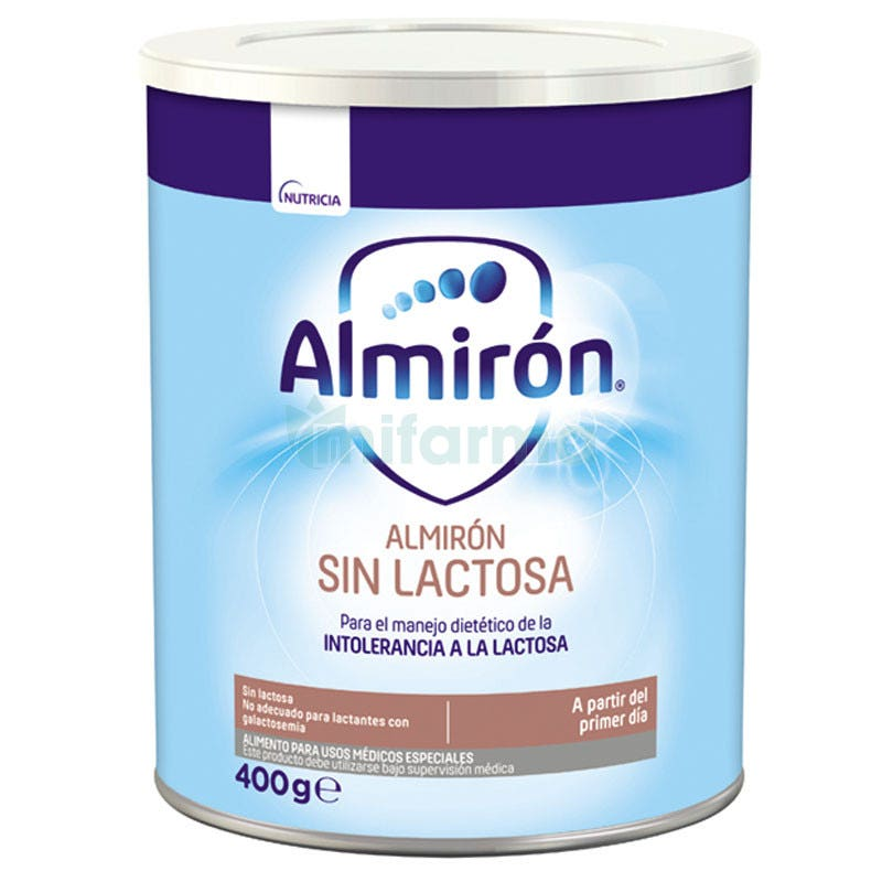 Almiron Sin Lactosa 400 Gramos