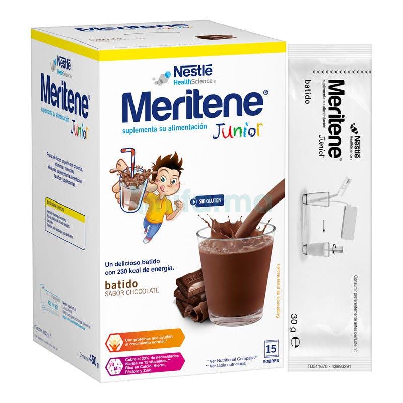 Meritene Junior Chocolate 15 Sobres