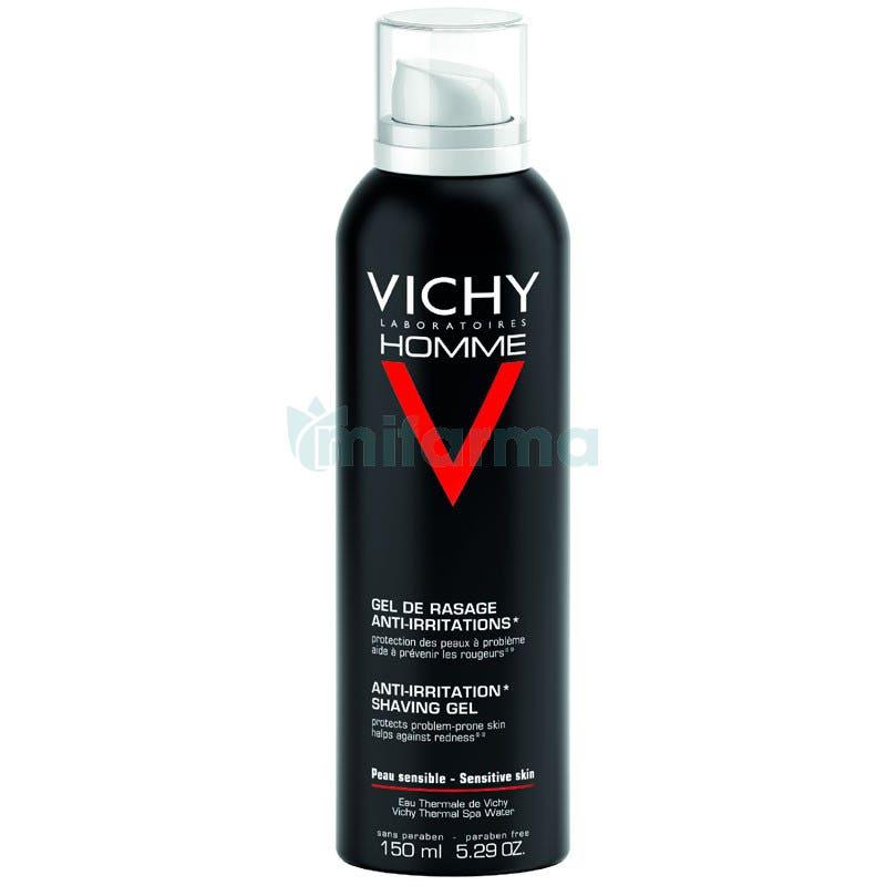 Vichy Homme Gel Afeitar Anti-irritaciones 150ml