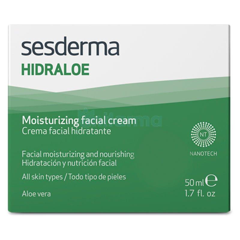 Hidraloe Crema Facial Hidratante 50 ml Sesderma