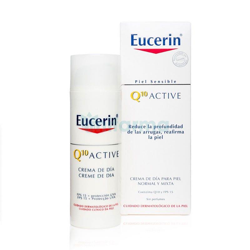 Eucerin Q10 Antiarrugas Crema Dia Piel Normal-Mixta 50ml